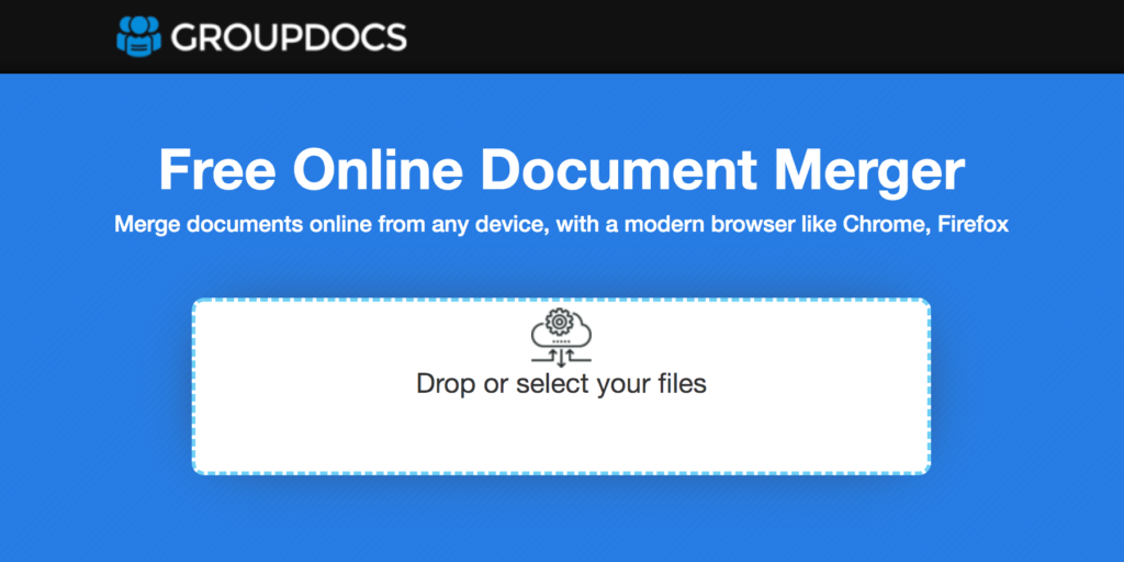 Merge Documents Online for Free